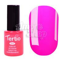 Гель-лак Tertio №106 (темно-розовый, эмаль), 10 мл