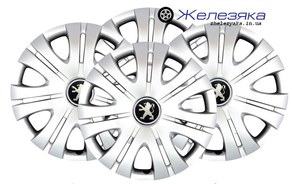Колпаки на колеса R15 SKS/SJS №317 Peugeot