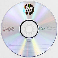 DVD-R диски для видео Hewlett-Packard Cake box 10