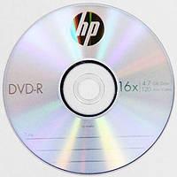 DVD-R диски для видео Hewlett-Packard Cake box 10