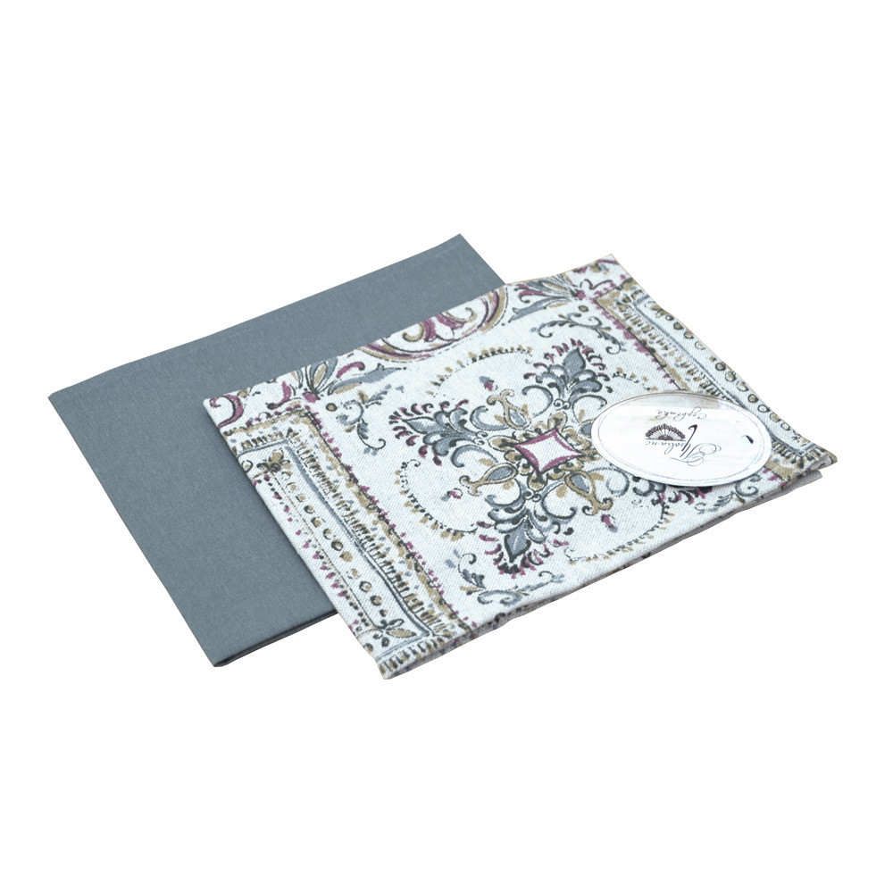 Салфетки Uni grey + Mosaic