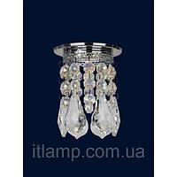 Точечный светильник врезнойArt712lstA2067 хром itlamp