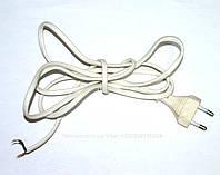 Сетевой кабель универсальный для вентилятора HO3VVH2-F 2x0.5mm2.L=1,65m,2,5A/250V.