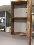 """Зеркало со шкафчиком GOLD Ban-Yom """"Legno 85"""", 850х640х170 мм , фото 3"""