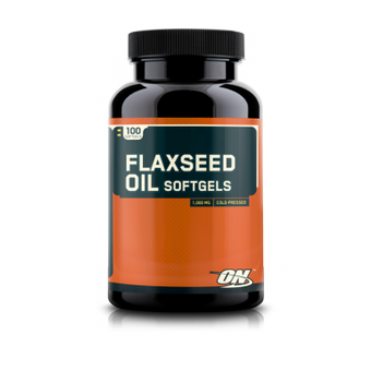 Optimum Nutrition Flaxseed Oil 100 caps