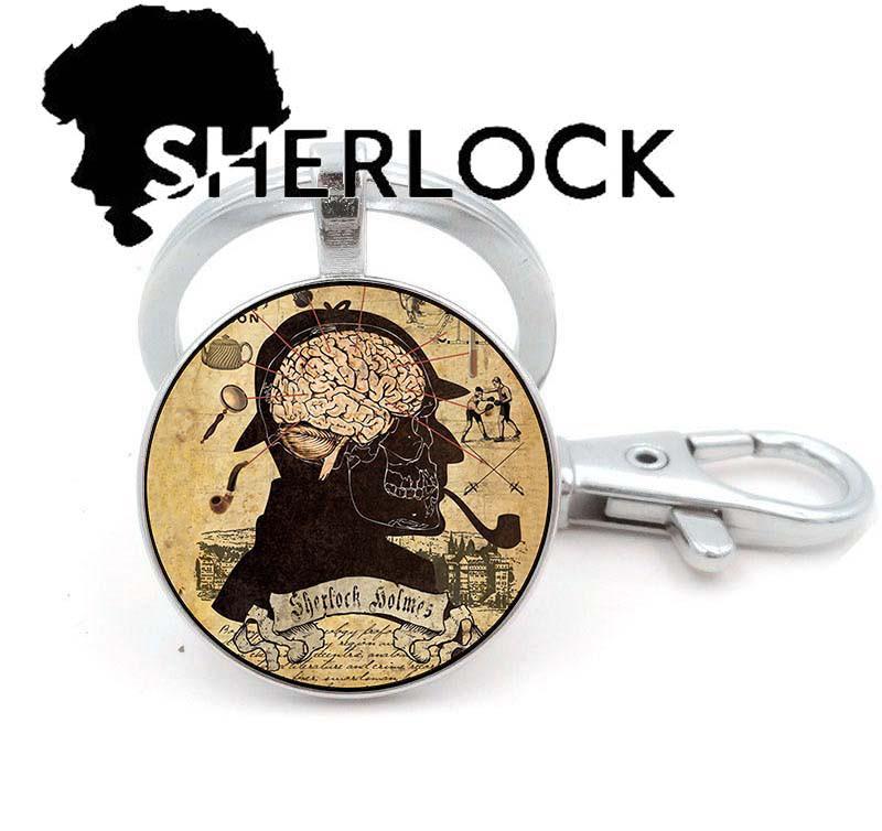 Брелок Sherlock Holmes Шерлок Холмс анатомический мозг