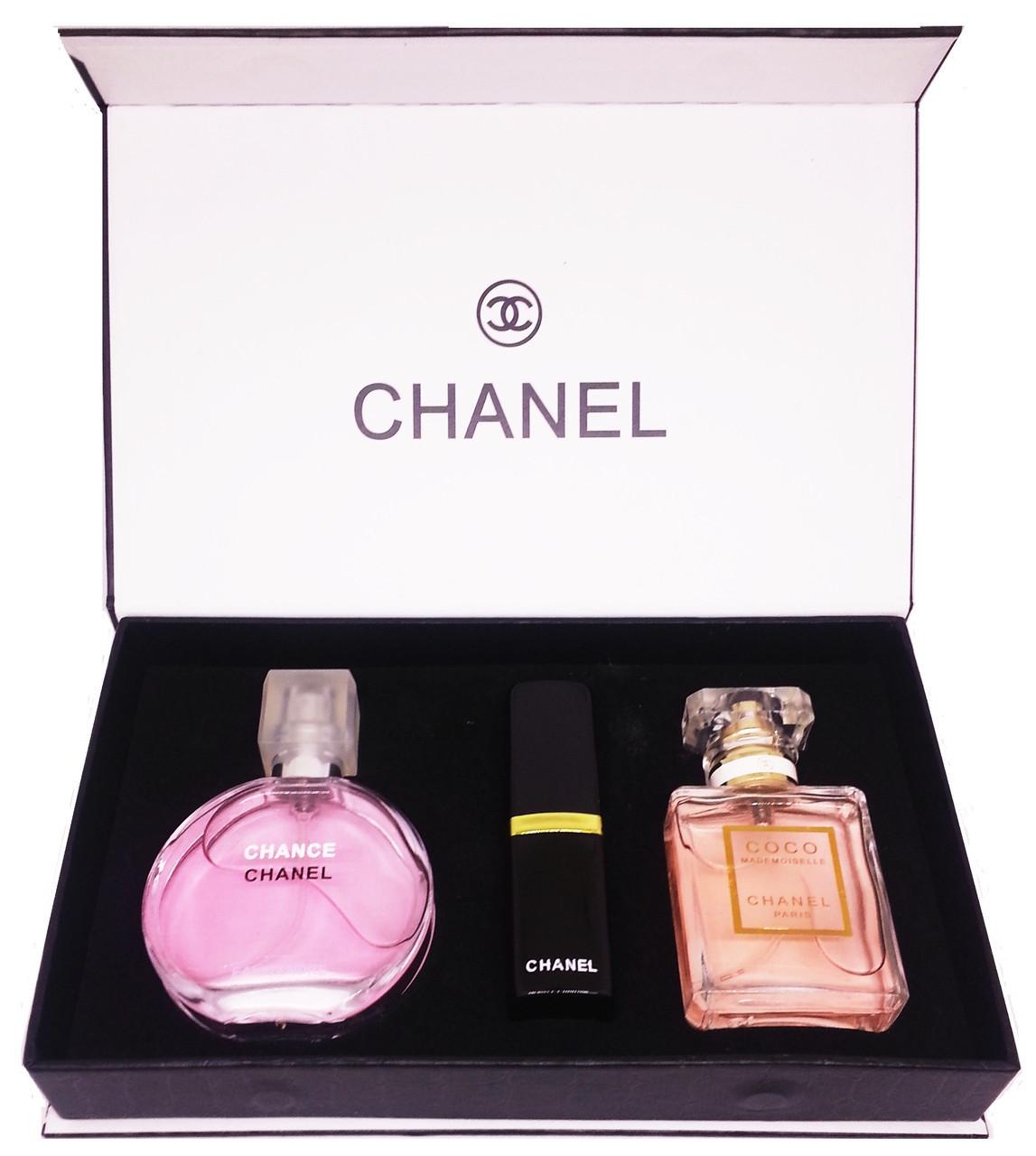 Подарочный набор Chanel 3 in 1