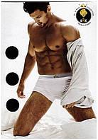 Мужские трусы боксеры. Набор три 3шт, разный цвет, один размер.
