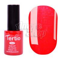 Гель-лак Tertio №109 (нежно-красный, синий микроблеск), 10 мл