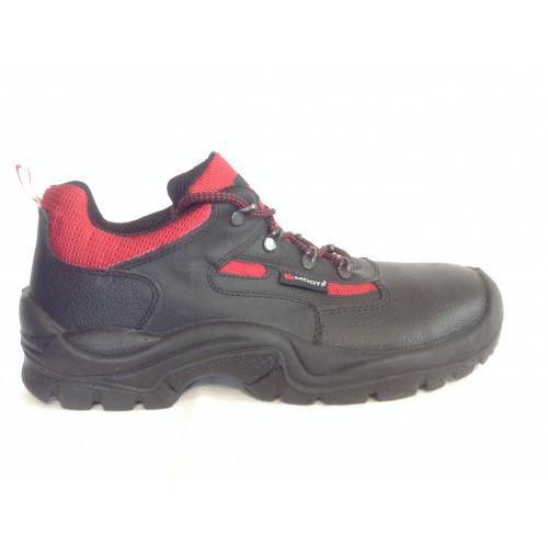 Ботинки рабочие Черный/Красный Wurth