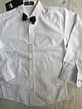 Сорочка з довгим рукавом для хлопчика 140,152 см, фото 2