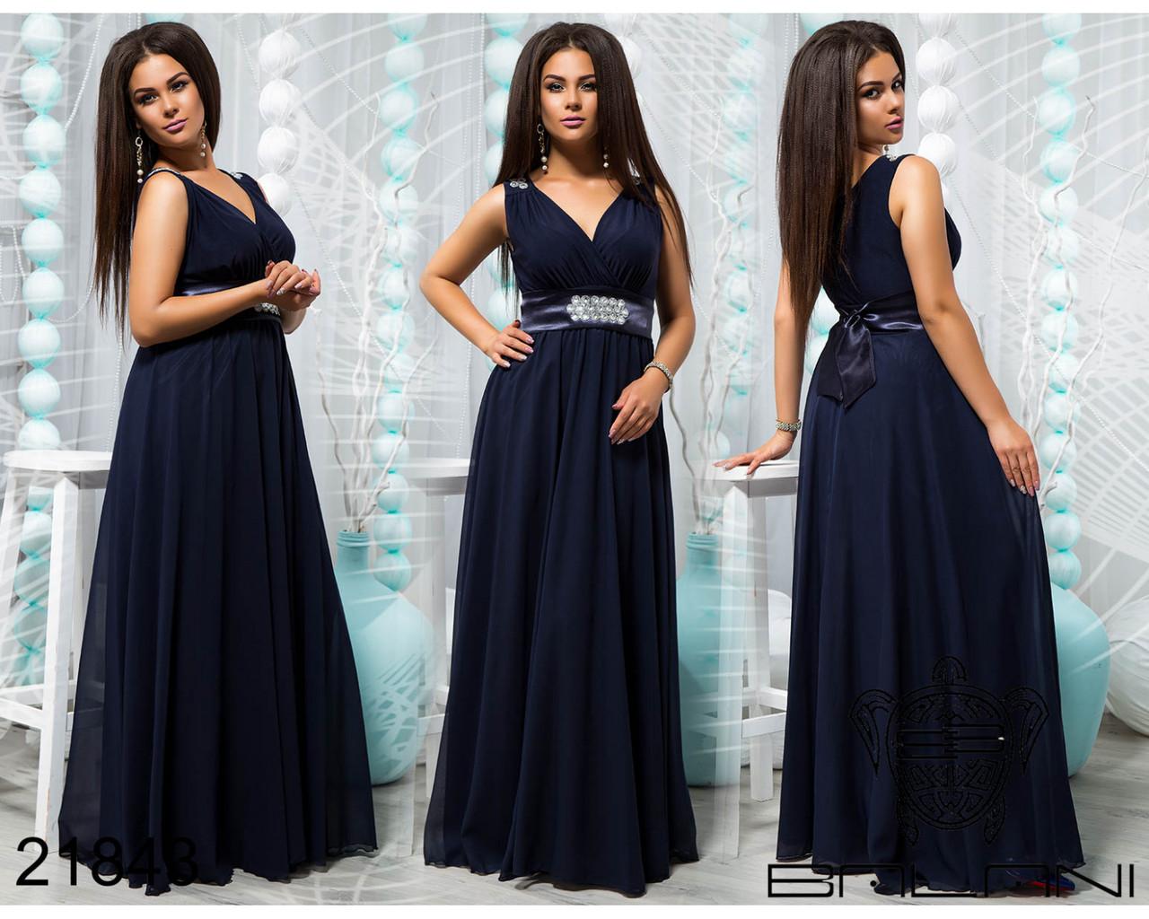 Вечірня сукня в пол з шифону та трикотажу масло  продажа 890007da3bfd8