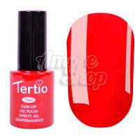 Гель-лак Tertio №110 (темный красный, эмаль), 10 мл