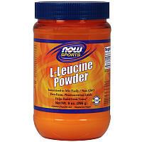 L-лейцин ( ВСАА спорт), L-Leucine Powder, Now Foods, 255 г