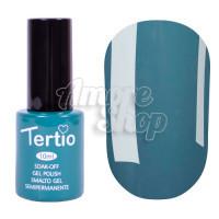 Гель-лак Tertio №113 (зеленый морской, эмаль), 10 мл