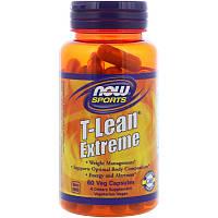 Зеленый чай спорт экстрим (T-Lean Extreme), Now Foods, 60 кап.
