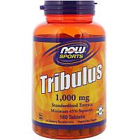Трибулус повышает тестостерон, Now Foods, Tribulus, 180 капсул, фото 1
