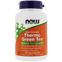 Зеленый чай (Thermo Green Tea), Now Foods, 90 капсул