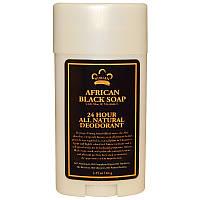 Дезодорант для тела (африканское черное мыло), Nubian Heritage, 64 г.