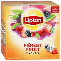 Чай черный Lipton Forest Fruit 20 пак*1,7 гр.