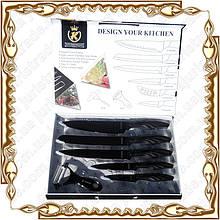 Набор ножей 6 предм. тефлон Frico KK-25-SN5