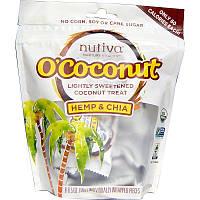 Кокосовые закуски, O'Cocunut, Nutiva, 8 шт.