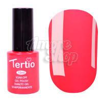Гель-лак Tertio №116 (красно-розовый, неоновый), 10 мл