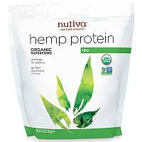 Конопляный протеин 15г белка, Hemp Protein, Nutiva, 1,36 кг