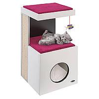 DIABLO Мебель (домик)  для кошек с когтеточкой, игрушкой и местом для сна