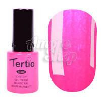 Гель-лак Tertio №117 (кислотно-розовый, микроблеск), 10 мл