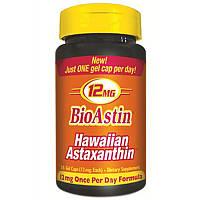 Астаксантин, Nutrex Hawaii, БиоАстин, 12 мг, 25 гелевых капсул