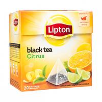Чай чорний Lipton Citrus 20 пак.*1,8 гр.