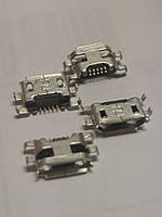 Коннектор micro usb Fly IQ442 Lenovo A1000 Alcatel 4015 4032 Motorola Moto G2 XT1063 XT1064 XT1068 XT1069