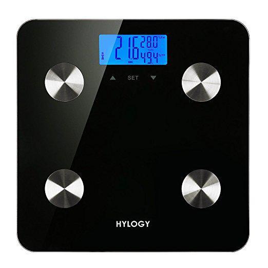 Напольные электронные весы (7 фитнес индикаторов, функция памяти)