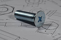 Винты самонарезающие с потайной головкой DIN 965, ГОСТ 17475-80 диаметром резьбы М5, фото 1