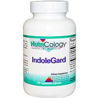 Индол 3 Карбинол, IndoleGard, Nutricology, 120 капсул