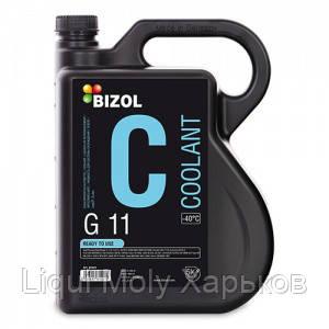 Антифриз готовый синий BIZOL COOLANT G11 -40°С 5л