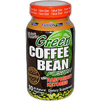 Fusion Diet Systems, Смесь бобов зеленого кофе с кетонами малины, 90 вегетарианских капсул