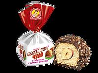 Шоколадные  конфеты  Маленькое чудо сливочное с фундуком кондитерской фабрики Славянка