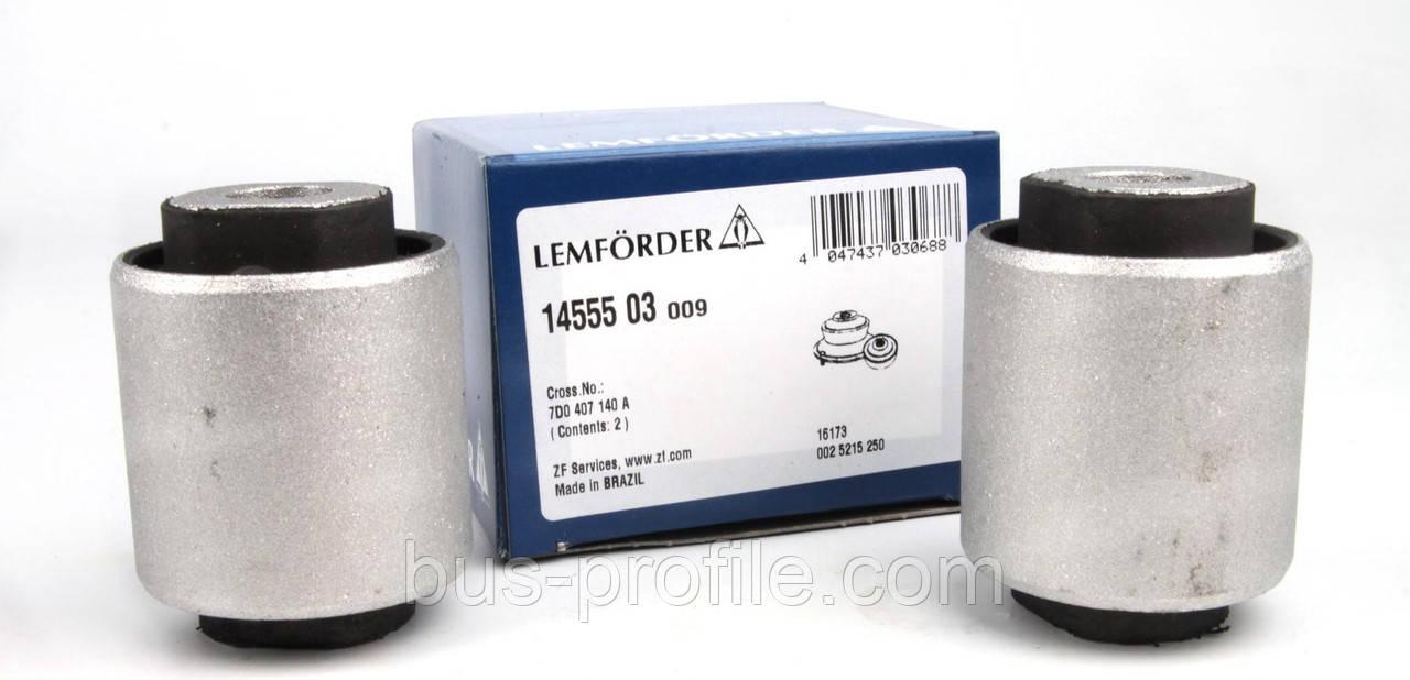 Сайлентблок рычага (переднего/снизу/сзади) VW T4 90-03→ — Lemforder (Германия) — 14555 03