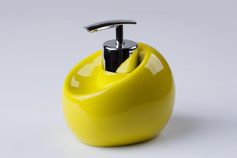Дозатор для жидкого мыла Нора зеленый