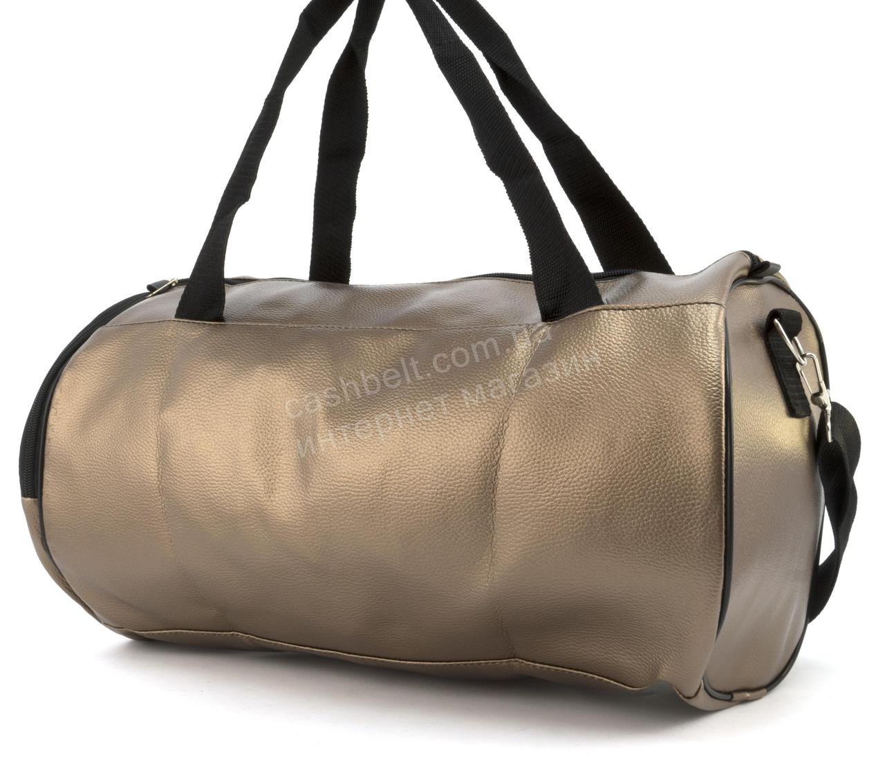e13fae2b9386 Спортивная женская сумка из эко кожи бочонок art. 418 (102163 ...