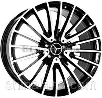 Литые диски Replica Mercedes-Benz MR252 10,5x22 5x112 ET45 dia66,6 (BKF)