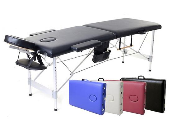 Массажный стол двух-сегментный деревянный 4 цвета