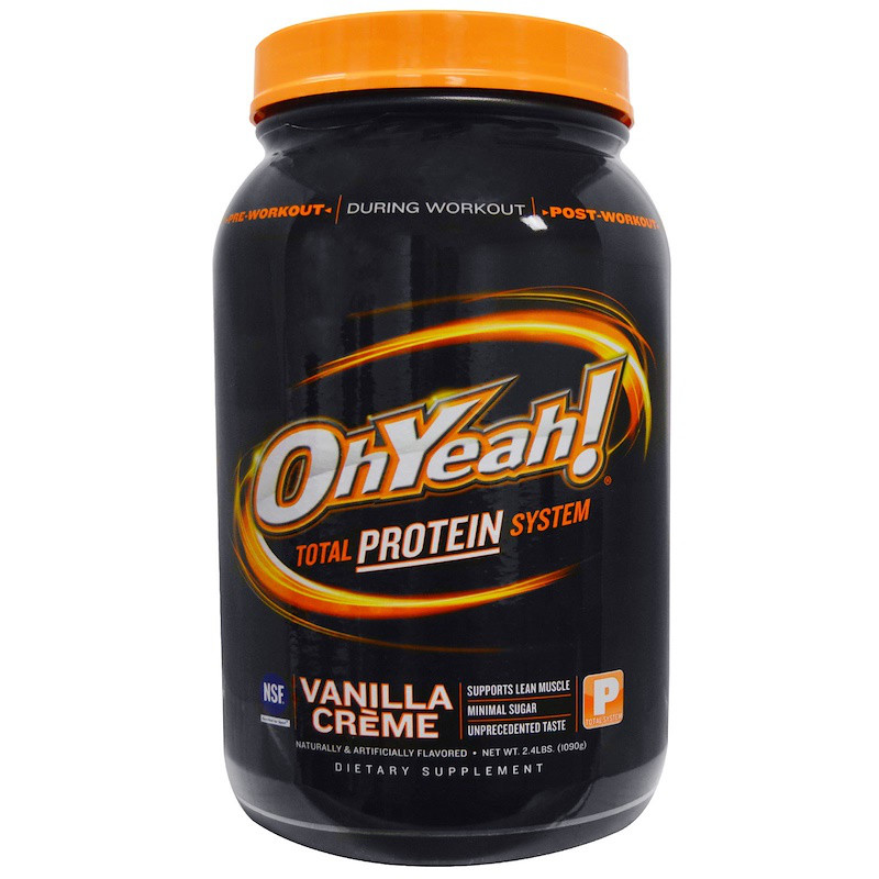 Oh Yeah!, Total Protein System, Vanilla Creme, 2.4 lbs (1090 g)