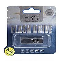 Usb flash drive 3bs 64gb 3.0 black (3bs64gb3bk)