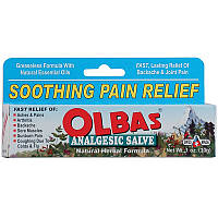 Olbas Therapeutic, Обезболивающее Salve, Натуральная формула, 1 унция (28 г)