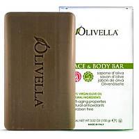 Olivella, Мыло для лица и тела, 100 г (3,52 унций)