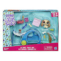 Игровой набор Hasbro Littlest Pet Shop mini Playset трейлер (E0393_E2103)
