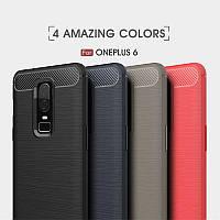 TPU чехол накладка Urban для OnePlus 6 (4 цвета)